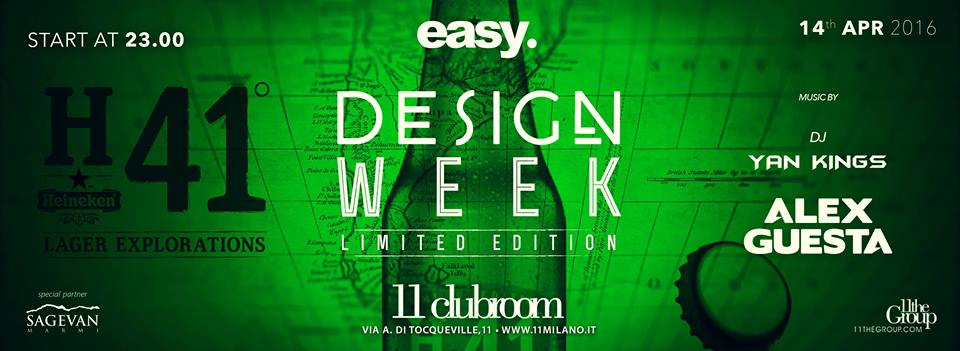 Design Week HEINEKEN Official Party