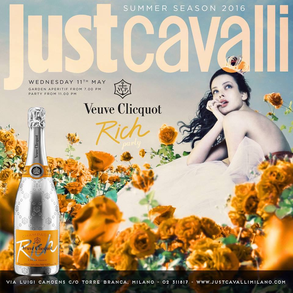 just cavalli veuve clicquot