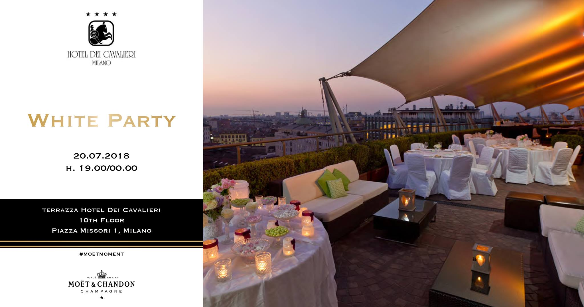 rooftop white party