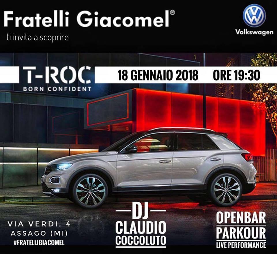 Lancio nuova Volkswagen T-Roc