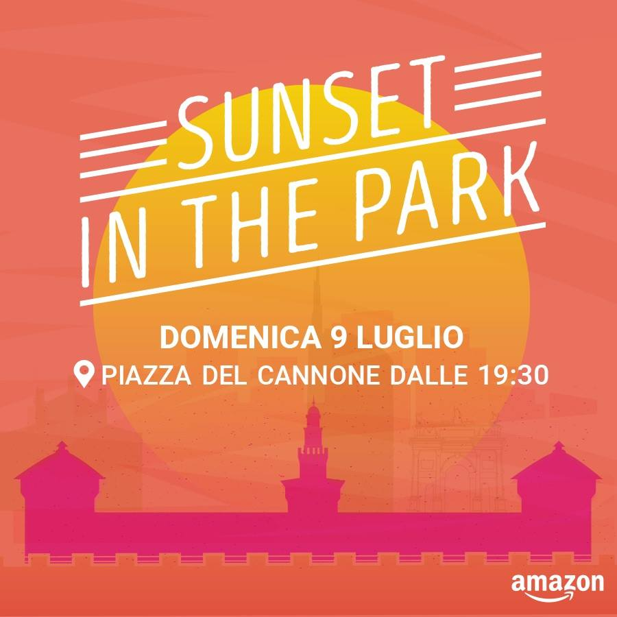 Evento Amazon Sunset in the Park