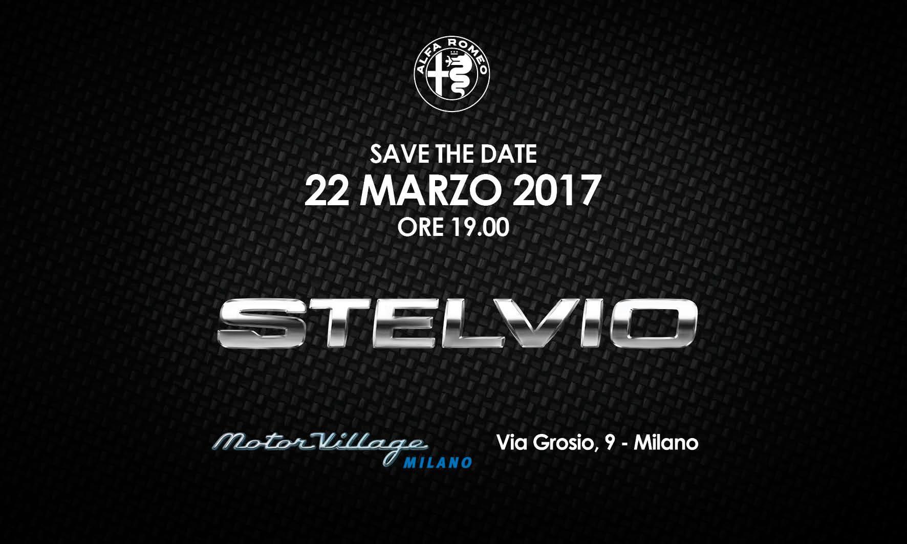 Presentazione Alfa Romeo Stelvio