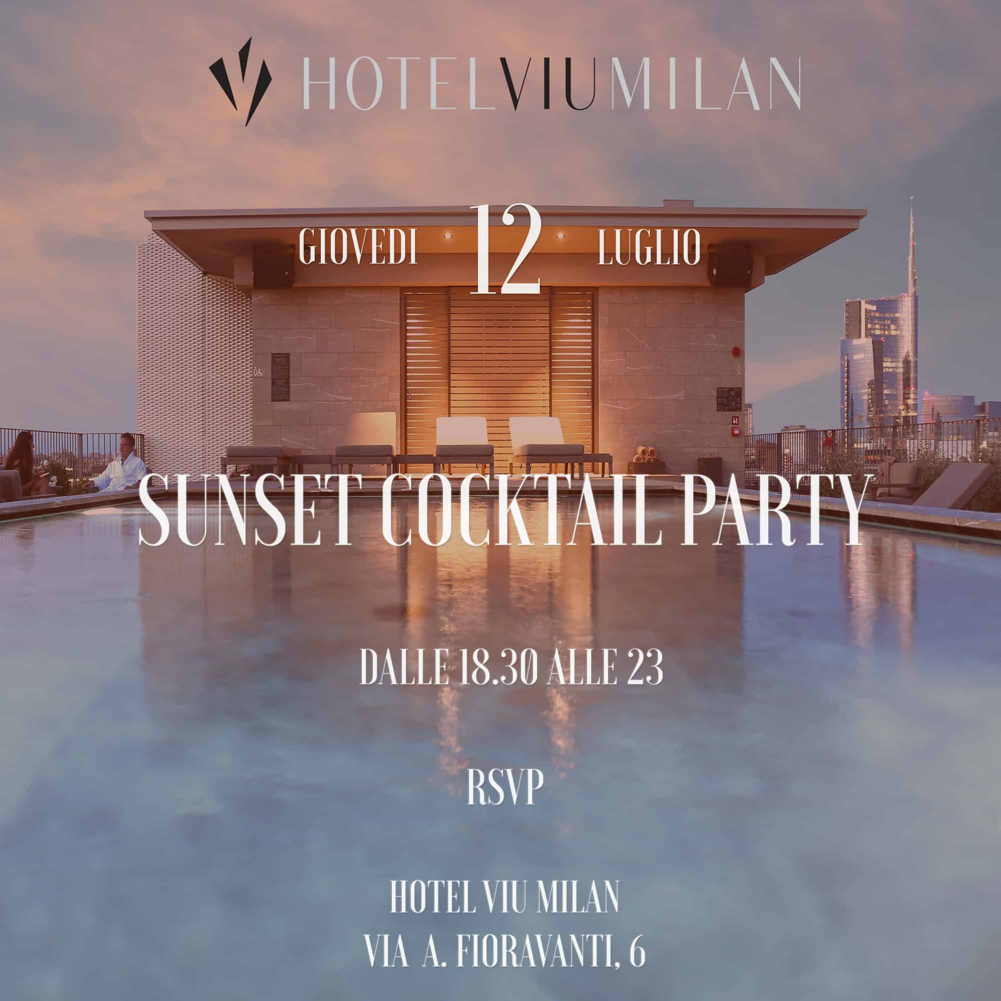 Hotel Viu - Sunset Cocktil Party